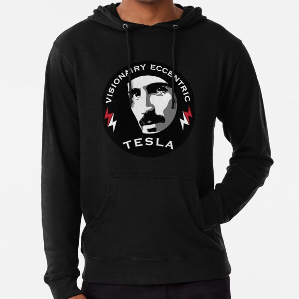 Nikola Tesla Eccentric Genius - Telsa Coil - Best Scientists - Serbo-Croatian - Electrical Engineer - Physics Lightweight Hoodie