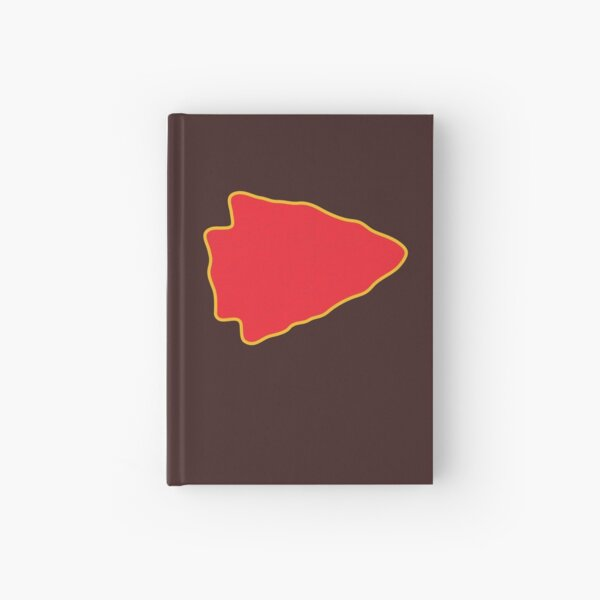 Kansas City Arrowhead KC Football Kc football Vintage Kingdom Kansas city Pro Gear Hardcover Journal