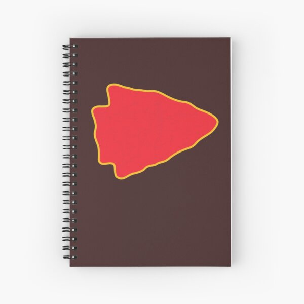 Kansas City Arrowhead KC Football Kc football Vintage Kingdom Kansas city Pro Gear Spiral Notebook