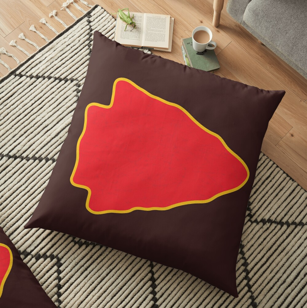 Kansas City Arrowhead KC Football Kc football Vintage Kingdom Kansas city Pro Gear Floor Pillow