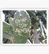 Omar and Alondra Forever Sticker