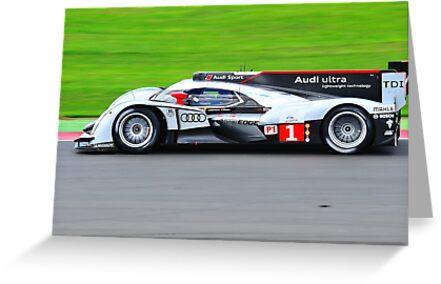No 1 Audi R18 TDI by Willie Jackson