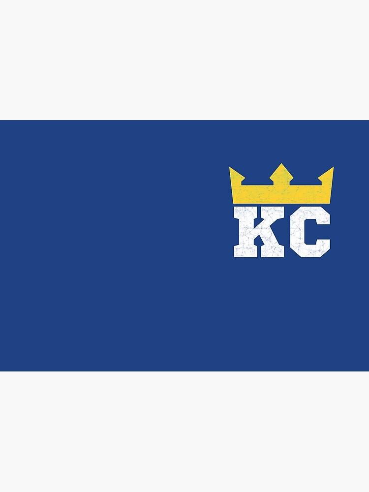 Kansas City Royal Blue KC Crown Town KC Baseball Fan Gear Kansas Citian KC Face mask Kansas City facemask by kcfanshop