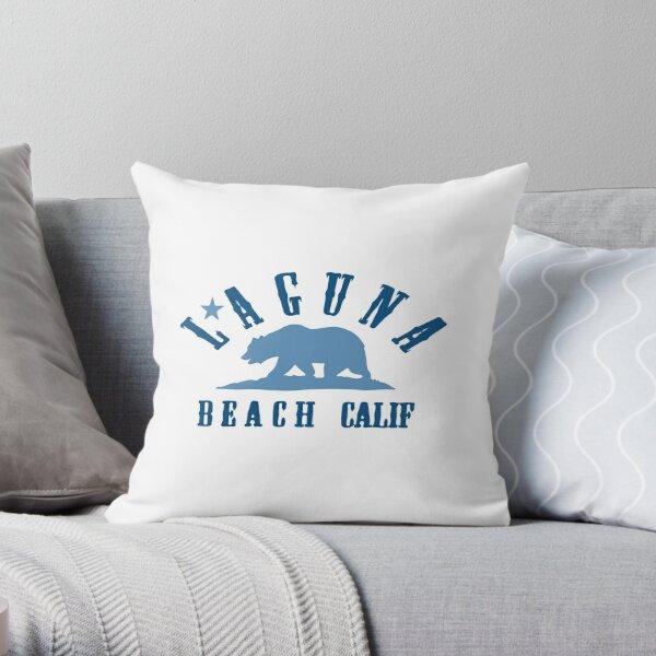 Laguna Beach - California. Throw Pillow