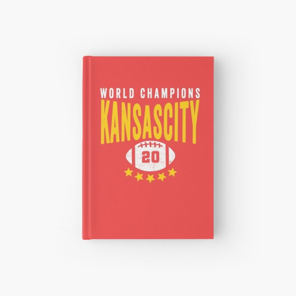 KC Face mask Kansas City facemask Kansas City Red KC World Champions 2020 Sports Fan Classics Hardcover Journal