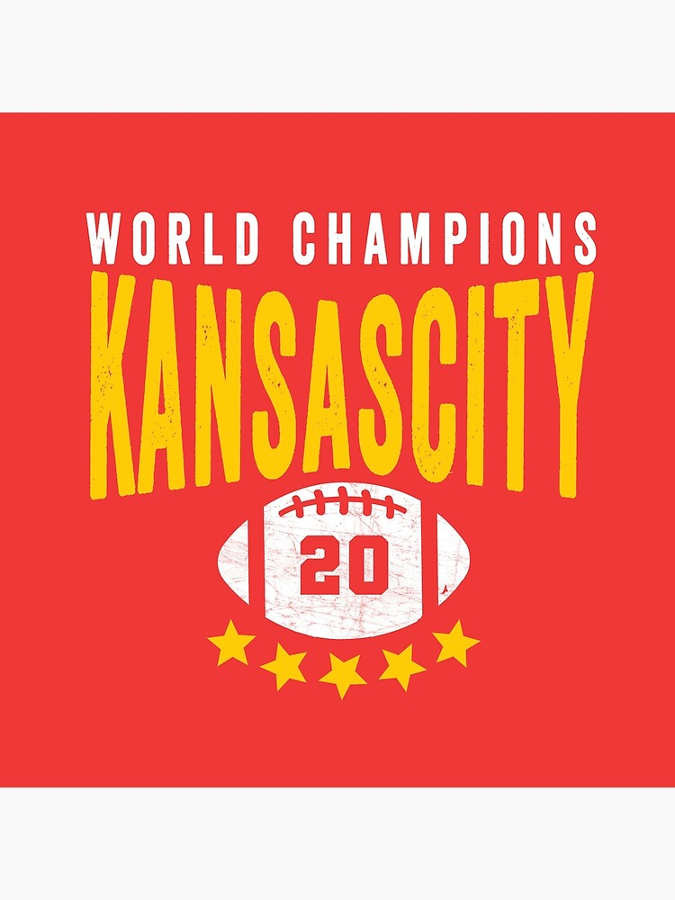 KC Face mask Kansas City facemask Kansas City Red KC World Champions 2020 Sports Fan Classics by kcfanshop