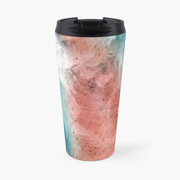 Seascape sunrise colors Travel Mug