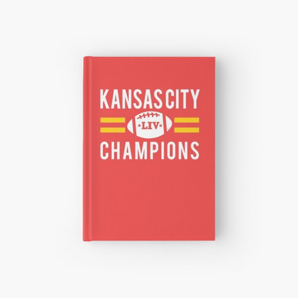 KC Face mask Kansas City facemask Kansas City Red KC 2020 World Champions Champs Kc Sports Fan Classics Hardcover Journal