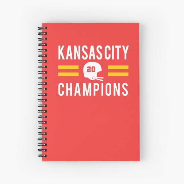 KC Face mask Kansas City facemask Kansas City Red KC 2020 World Champions Champs Kc Sports Fan Classics Spiral Notebook