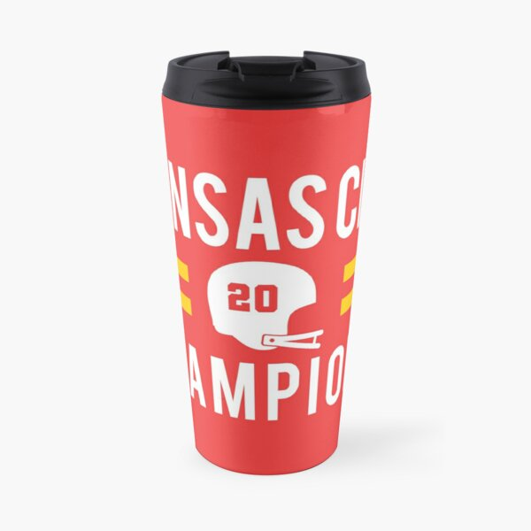 KC Face mask Kansas City facemask Kansas City Red KC 2020 World Champions Champs Kc Sports Fan Classics Travel Mug