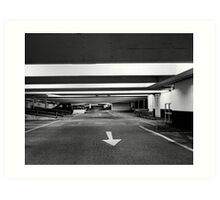carpark two Art Print