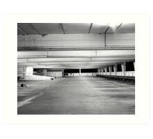 carpark three Art Print