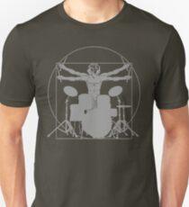 da Vinci percussion lines Unisex T-Shirt
