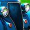 Blue on Wheels ~ November Redbubble Voucher Challenge
