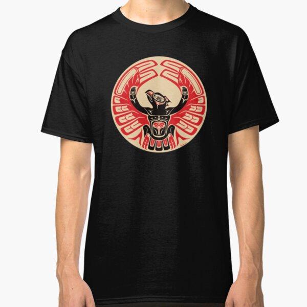 Firebird Phoenix Thunderbird with Raised Wings, Native American Style Classic T-Shirt