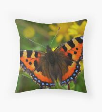 Small Tortoiseshell Throw Pillow