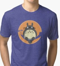 My Neighbour Totoro Tri-blend T-Shirt