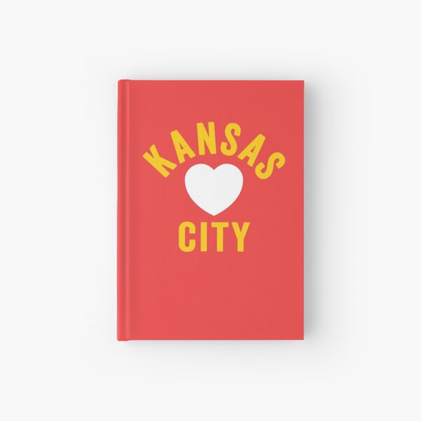 KC Mask Kansas City Heart Red Yellow KC Kingdom Kc Hearts Love Letter Football Sports Fan 2020 Classics Hardcover Journal