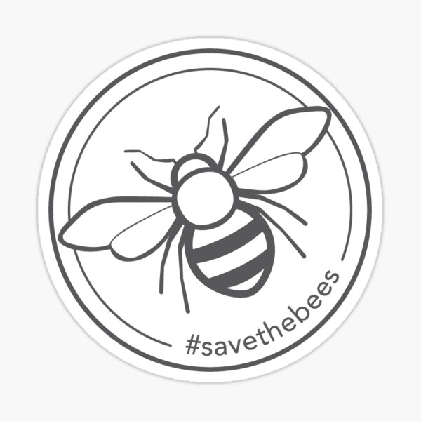 Save the bees -  Sticker