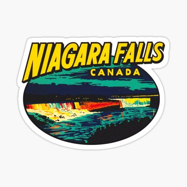 Niagara Falls Ontario Vintage Travel Decal Sticker