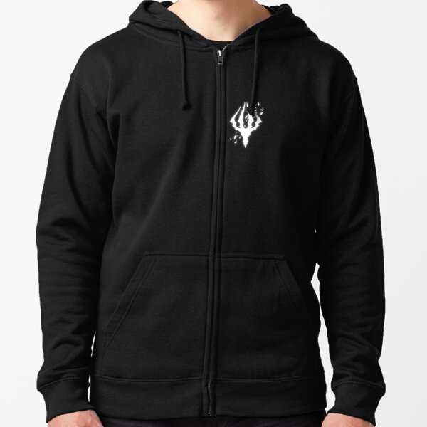 Hollow Knight King's Brand Zipped Hoodie