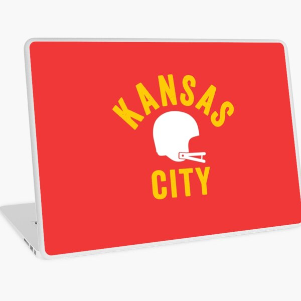 KC Face mask Kansas City facemask KC Football Helmet Kansas City Red Kingdom Kc 2020 Sports Fan Classic Champions Laptop Skin