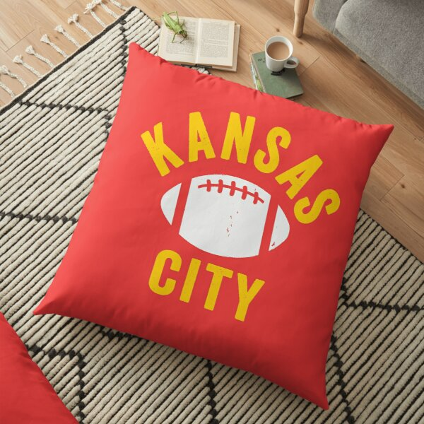 KC Face mask Kansas City facemask Mask KC Football Mask Kansas City Red Yellow Kingdom Kc 2020 Sports Fan Championship Classic Floor Pillow