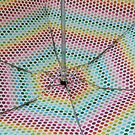 Polka Dot Umbrella by lindsaywinckel