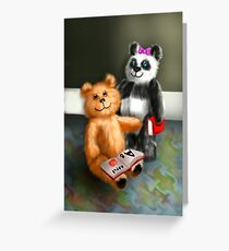 School bears Greeting Card