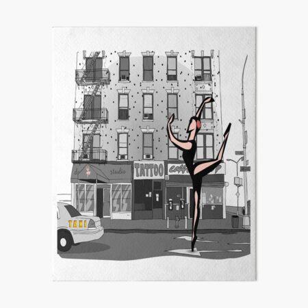 CITY BALLERINA Art Board Print