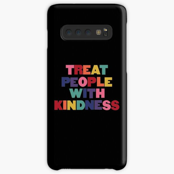 Rainbow Treat People With Kindness Samsung Galaxy Snap Case