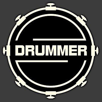Drummer by monafar