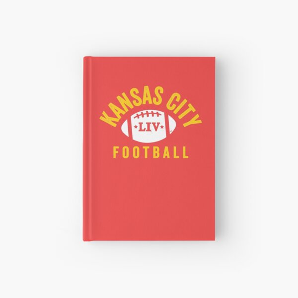 KC Face mask Kansas City facemask KC 2020 Kansas City Red Yellow Football Champions KC red Kingdom Cool 2020 Super Sports Fan Championship Classic Hardcover Journal