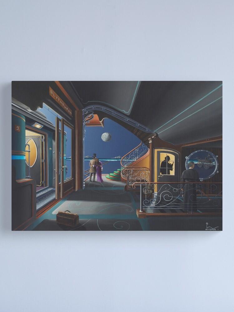 Alternate view of Art of Sherlock Lamboray Canvas Print