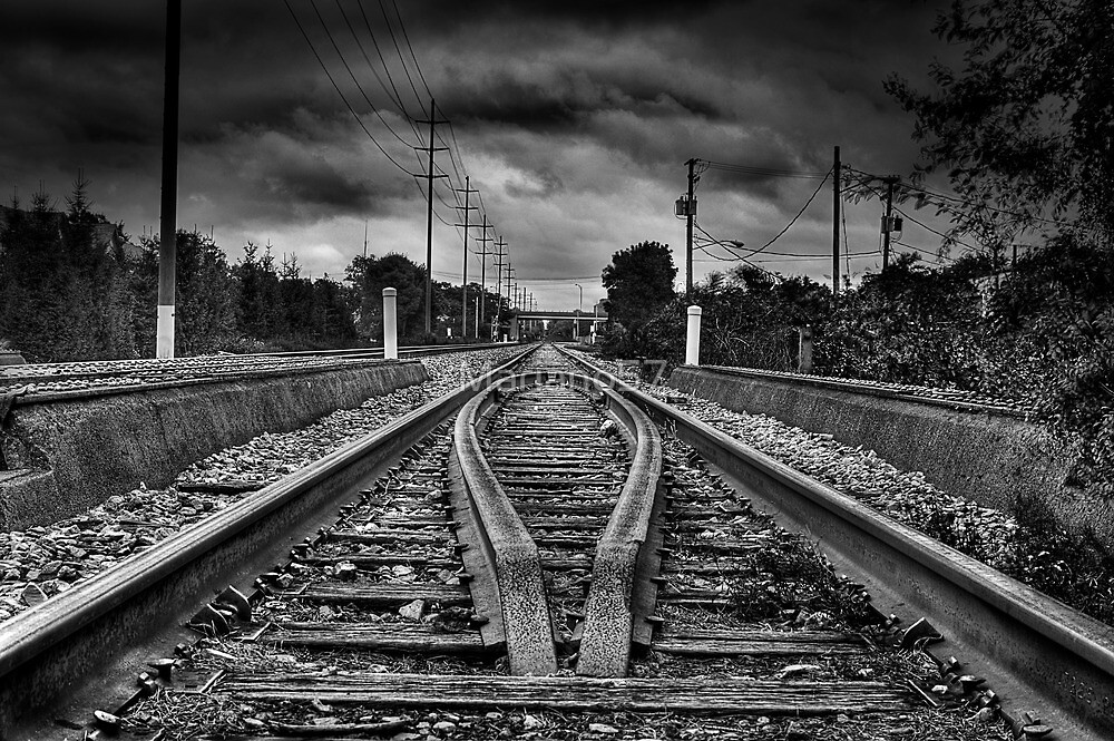 Railway Vanishing Point by Mariano57