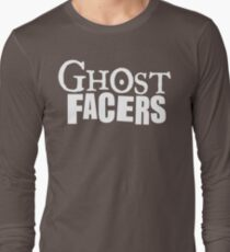 GHOST FACERS Long Sleeve T-Shirt