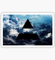 Triad sky Sticker