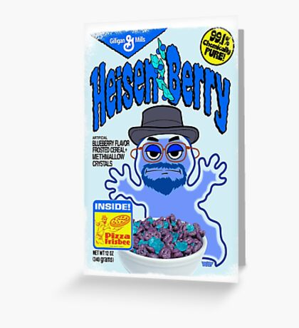 HEISEN-BERRY Greeting Card
