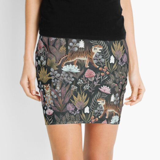 Moody jungle Mini Skirt