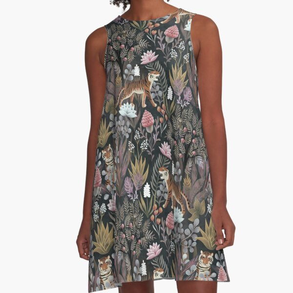 Moody jungle A-Line Dress
