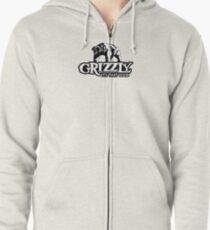 Sudadera con capucha y cremallera Grizzly Smokeless Tobacco