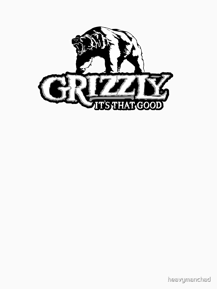 TShirtGifter presents: Grizzly Smokeless Tobacco | Unisex T-Shirt