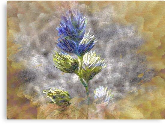 Painted Flower by Greta  McLaughlin