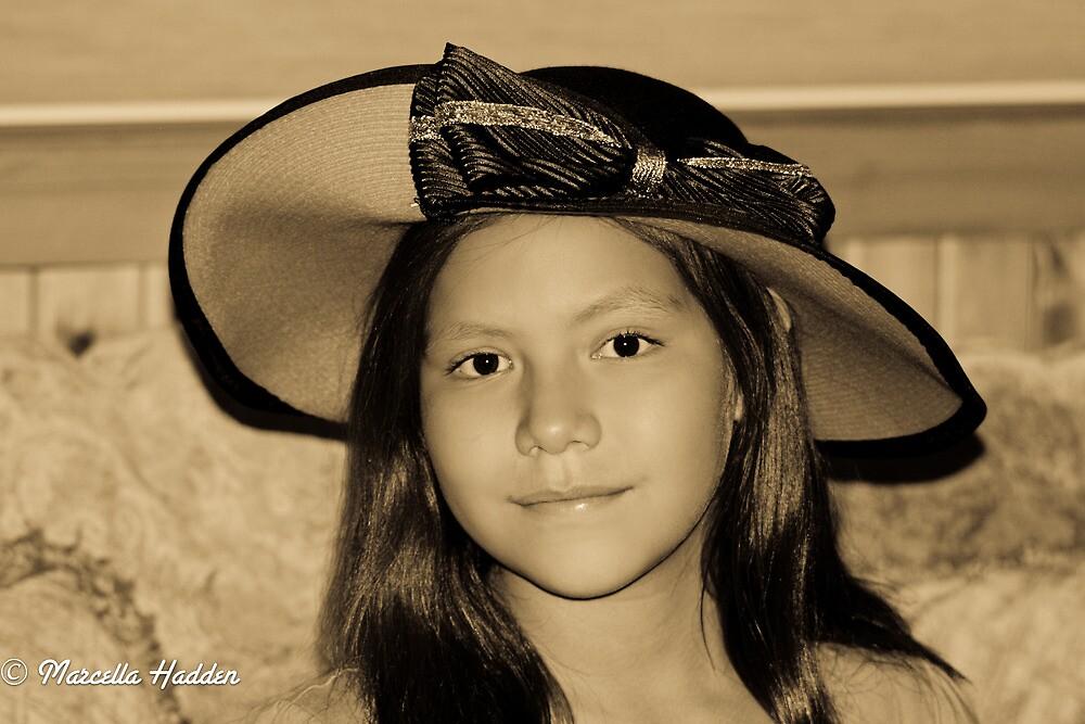 Tina Bina & Her New Hat by Marcella Hadden