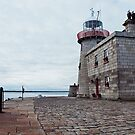 Howth Harbour Lighthouse by Michelle McMahon
