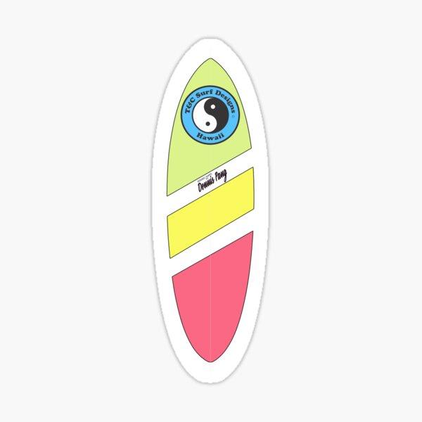 80s Surf  T&C Surf Sticker