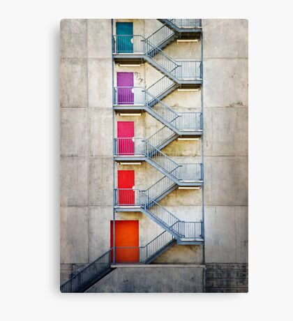 Five Doors Canvas Print