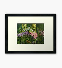 Flower Dance Framed Print