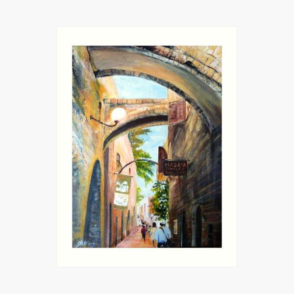 Enticing Bridges Art Print