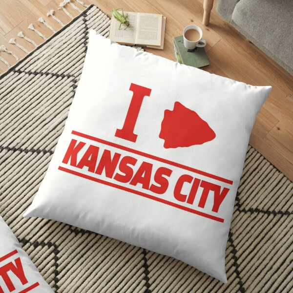 KC Face mask Kansas City facemask KC Kansas City Heart Red Arrowhead Yellow KC Kingdom Kc Hearts Love Letter Football Sports Fan 2020 Classics Floor Pillow
